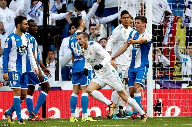 Bale và Nacho cùng lập cú đúp ở trận đấu này