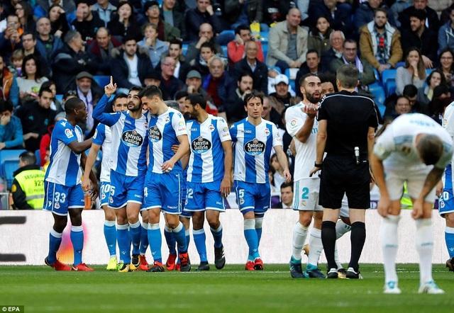 Deportivo gây sốc khi tìm được bàn thắng dẫn trước