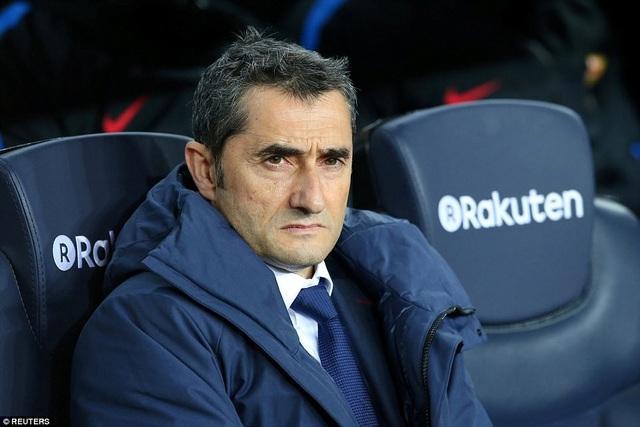 HLV Valverde đang nuôi mộng giành cú ăn ba trong năm đầu tiên dẫn dắt Barcelona