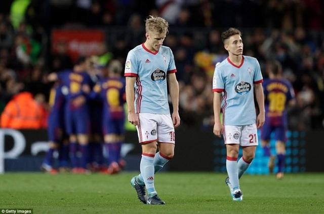 Celta Vigo đã không thể tạo nên bất ngờ trước đối thủ quá mạnh