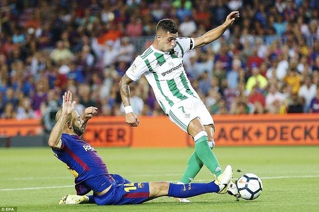 Real Betis đang chơi tốt ở La Liga và khó bị đánh bại trên sân nhà