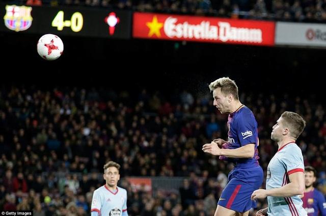 Barcelona đã chơi trên cơ hoàn toàn trước Celta Vigo, đội đã xuất sắc cầm hòa họ 1-1 ở lượt đi tại Balaidos