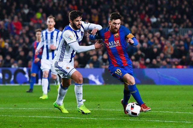 Messi vẫn là ngôi sao hay nhất của Barcelona mùa giải năm nay