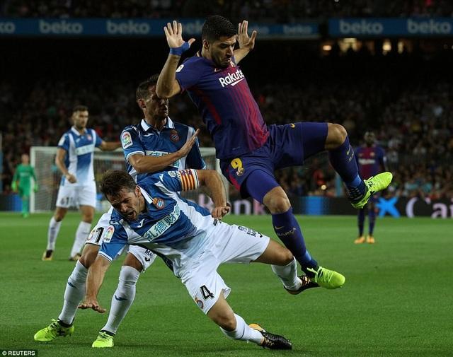 Luis Suarez đang đạt phong độ rất cao thời điểm này