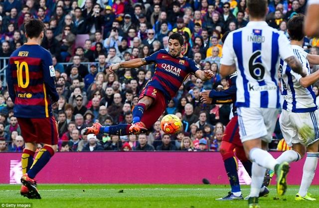 Sociedad luôn mang đến nhiều nỗi lo cho Barcelona