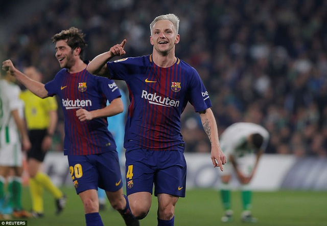 Rakitic là người khai thông thế bế tắc cho Barcelona