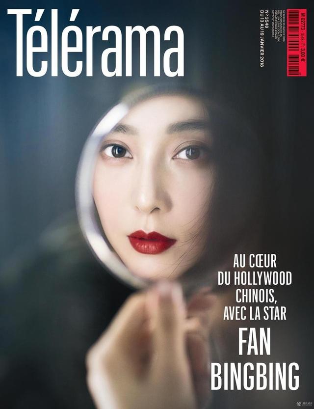 Phạm Băng Băng vinh hạnh được tạp chí điện ảnh nổi tiếng của Pháp - Télérama phỏng vấn và chọn là gương mặt trang bìa cho số báo tháng 2/2018, số báo kỷ niệm 70 năm thành lập của tạp chí Télérama.