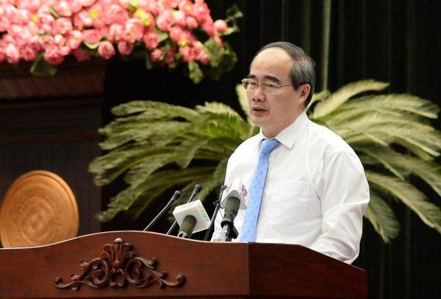 Bí thư Thành ủy TPHCM Nguyễn Thiện Nhân cho rằng thành phố rất nỗ lực để hoàn thành chỉ tiêu thu ngân sách năm 2017