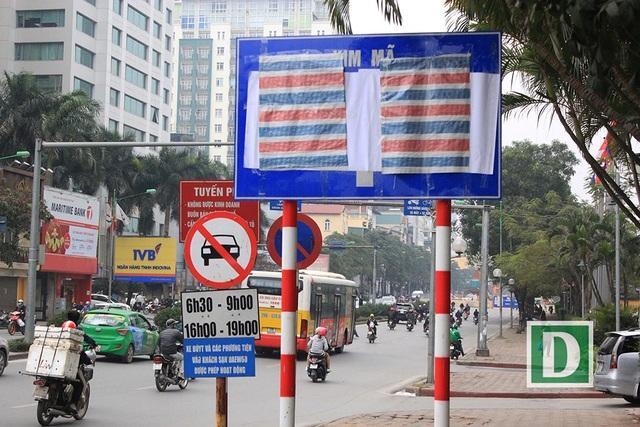 Hình ảnh trên phố Kim Mã.