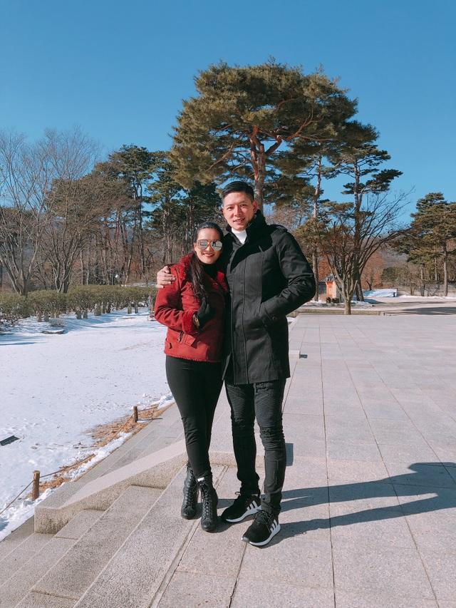 Bình Minh đưa vợ qua Hàn ngắm tuyết sau scandal với Trương Quỳnh Anh - 4