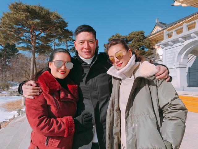 Bình Minh đưa vợ qua Hàn ngắm tuyết sau scandal với Trương Quỳnh Anh - 2