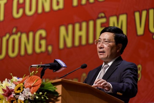 Phó Thủ tướng - Bộ trưởng Bộ Ngoại giao Phạm Bình Minh