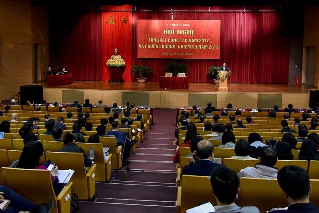 Hội nghị tổng kết ngành ngoại giao Việt Nam năm 2017 và phương hướng nhiệm vụ năm 2018