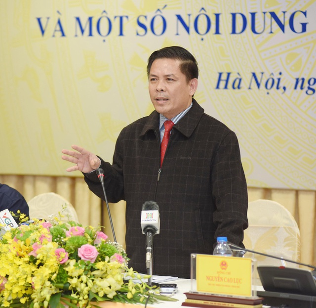 Ông Nguyễn Văn Thể - Bộ trưởng Bộ GTVT