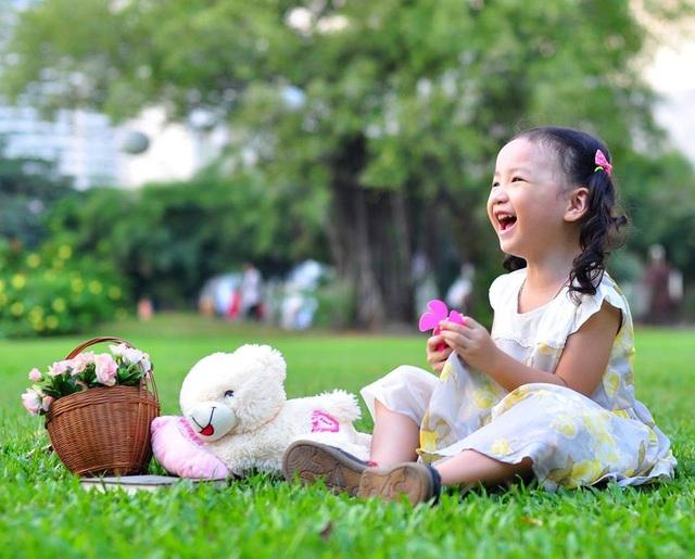 Nét cườibé gái 5 tuổi, nhìn không thể không yêu - 10