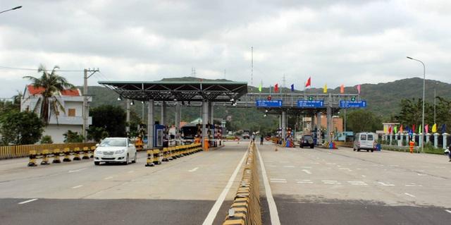 Chủ đầu tư trạm BOT Bàn Thạch đề nghị mở rộng phạm vi giảm 100% phí xe qua trạm