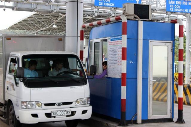 Từ ngày 15/1/2018 trạm thu phí Bàn Thạch sẽ miễn, giảm cho tất cả các loại xe mà chủ phương tiện là người thuộc xã An Dân, huyện Tuy An.