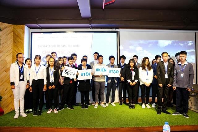Các đội tham gia cuộc thi Sáng tạo Xã hội 2017 (SOIN Challenge 2017)
