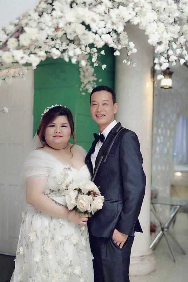 """Kim Ngân có cân nặng 120kg trong khi cân nặng của Hải Thanh là 70kg nên được dân mạng gọi là """"cặp đôi đũa lệch"""""""