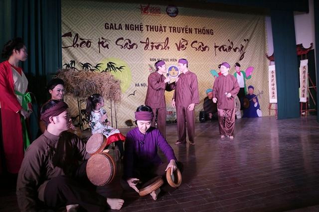 Hầu hết các diễn viên của đêm gala đều đang là sinh viên tại các trường ĐH, CĐ trên địa bàn Hà Nội