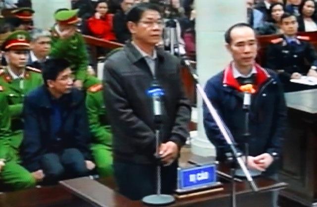 Vũ Đức Thuận được yêu cầu đối chất lời khai với Nguyễn Ngọc Quý.