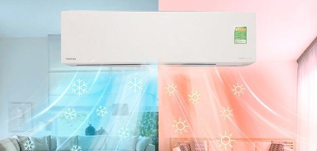 Sử dụng điều hòa đúng cách có thể làm mát hiệu quả trong mùa hè, đồng thời sưởi ấm căn phòng trong mùa đông.
