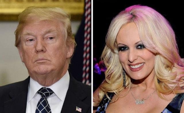 Tổng thống Mỹ Donald Trump bác bỏ những cáo buộc của sao phim người lớn Stormy Daniels. (Ảnh: Getty)