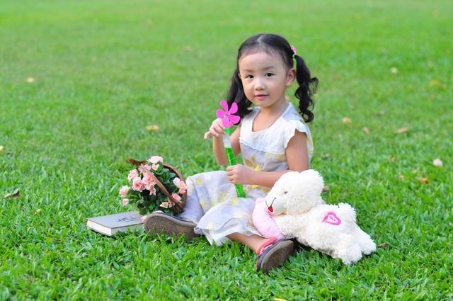 Nét cườibé gái 5 tuổi, nhìn không thể không yêu - 9