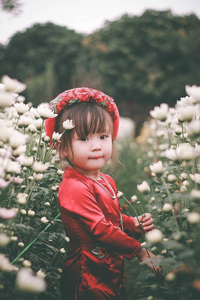 Những bức ảnh chụp hầu hết đều là khoảnh khắc tự nhiên nhất của bé.