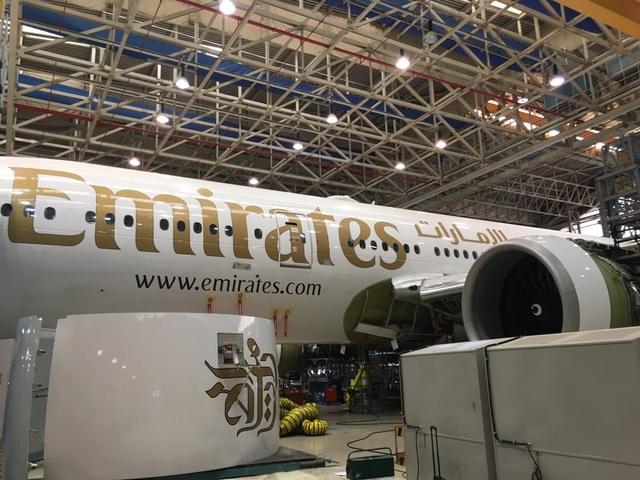 Máy bay Boeing 777 -300ER đang được gia cố cho một hợp đồng cho thuê.