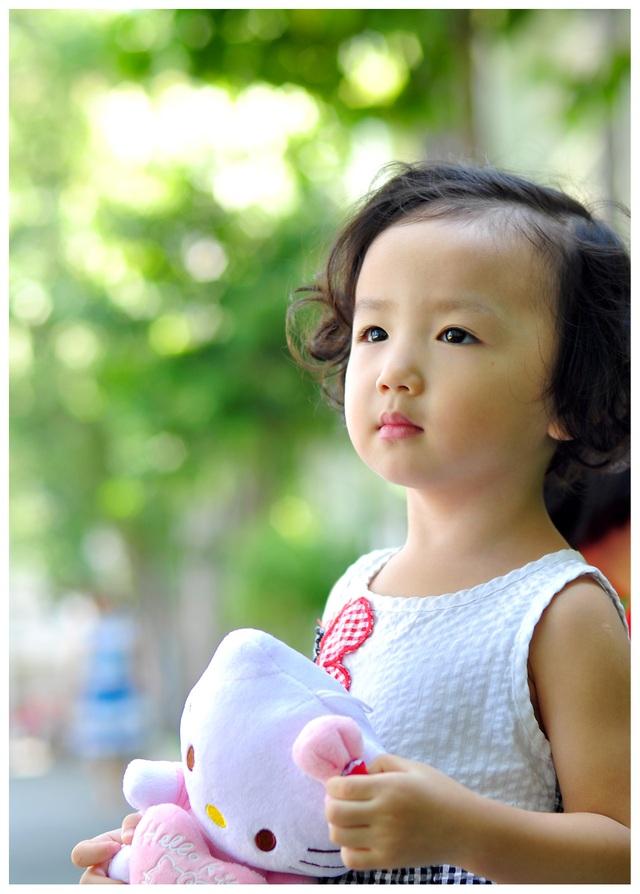 Nét cườibé gái 5 tuổi, nhìn không thể không yêu - 8
