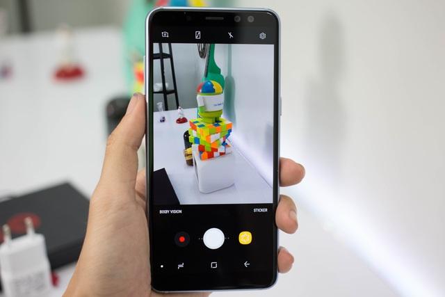 Đánh giá nhanh điện thoại Samsung Galaxy A8 (2018) - 5