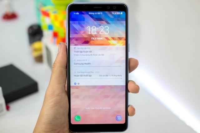 Đánh giá nhanh điện thoại Samsung Galaxy A8 (2018) - 3