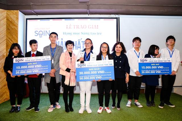 Các thí sinh đoạt giải cao nhất của cuộc thi