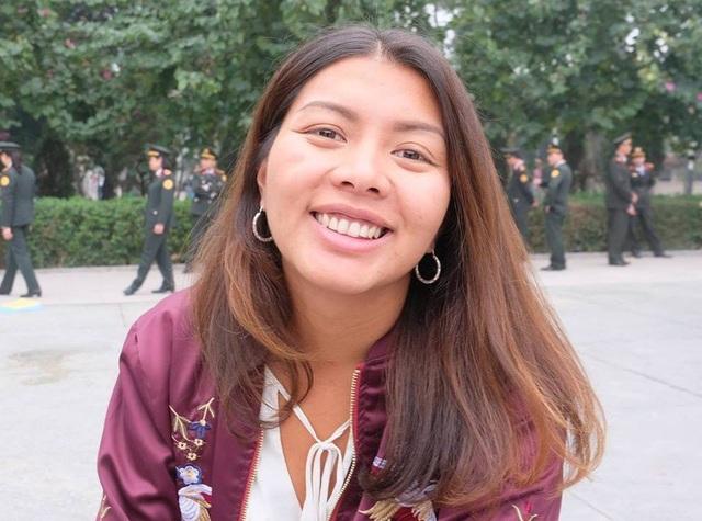 Hương Giang cho biết cô rất yêu đất nước và con người Việt Nam (Ảnh nhân vật cung cấp)