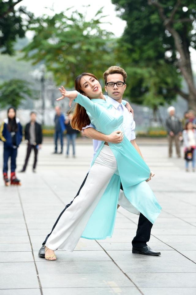 Sinh viên Ngoại thương nhảy quyến rũ kể chuyện tình yêu - 11