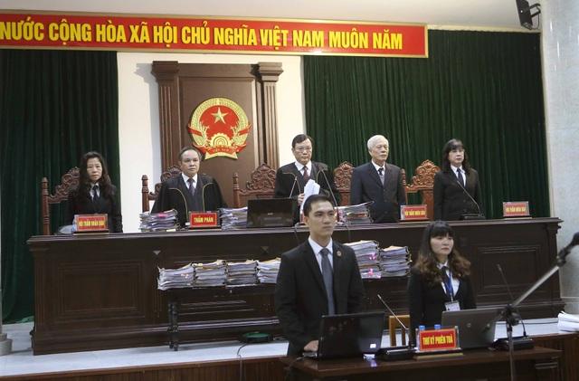Hội đồng xét xử bị cáo Đinh La Thăng, Trịnh Xuân Thanh và các đồng phạm