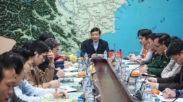 Ông Trần Quang Hoài chủ trì cuộc họp.