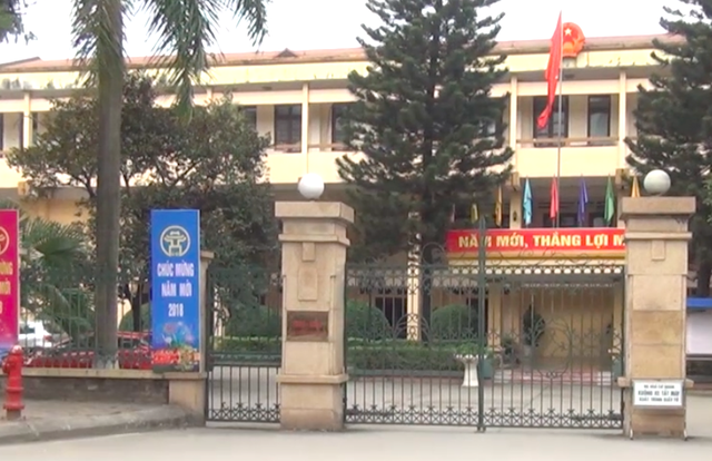 Trụ sở UBND huyện Gia Lâm.