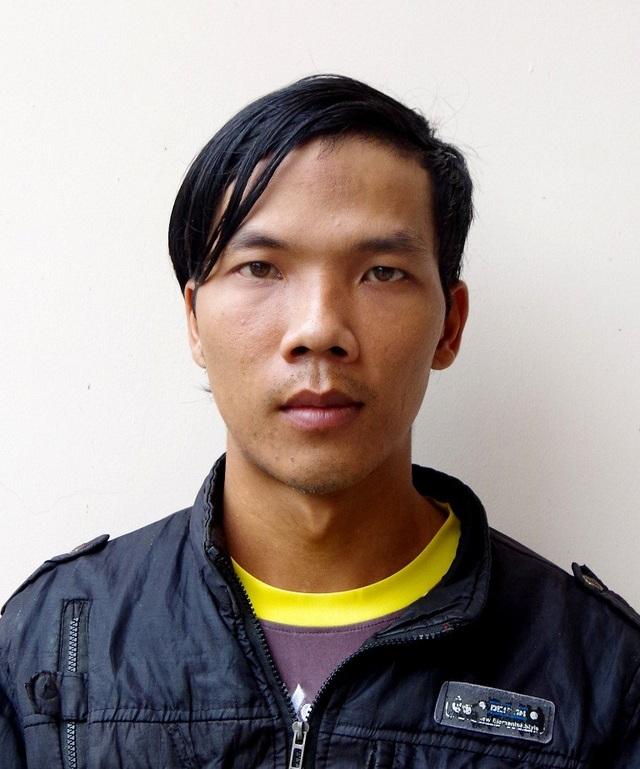 Đối tượng Lê Minh Trung tai cơ quan điều tra
