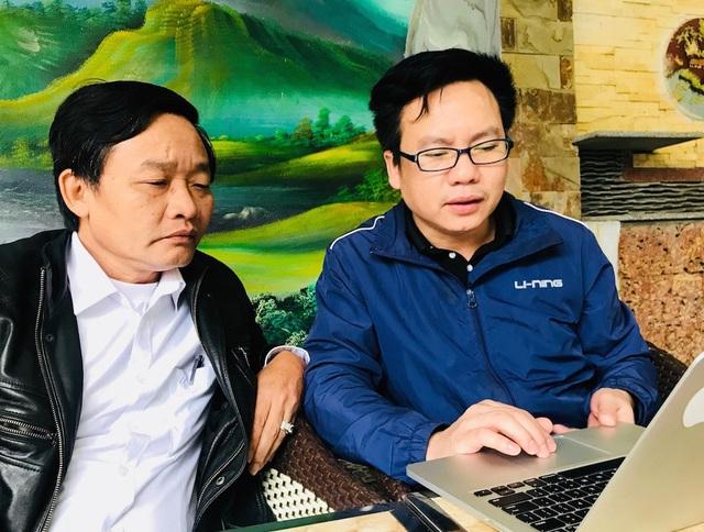 Ông Tống Minh Hiệu - Công ty CP An Lộc chia sẻ với PV Dân trí.