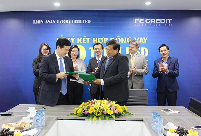 FE CREDIT đã ký kết hợp đồng vay trị giá 50 triệu USD với Lion Asia ngày 23/1