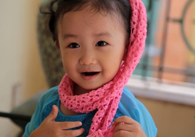 Nét cườibé gái 5 tuổi, nhìn không thể không yêu - 7