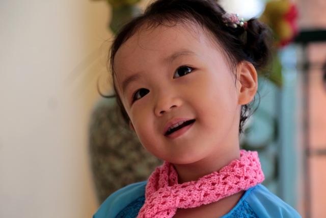 Nét cườibé gái 5 tuổi, nhìn không thể không yêu - 6