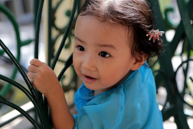 Nét cườibé gái 5 tuổi, nhìn không thể không yêu - 5