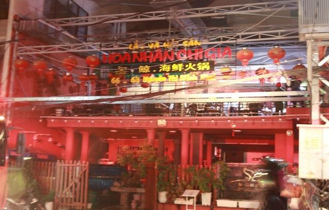 Nhà hàng tại Nha Trang nơi xảy ra vụ cháy nổ.