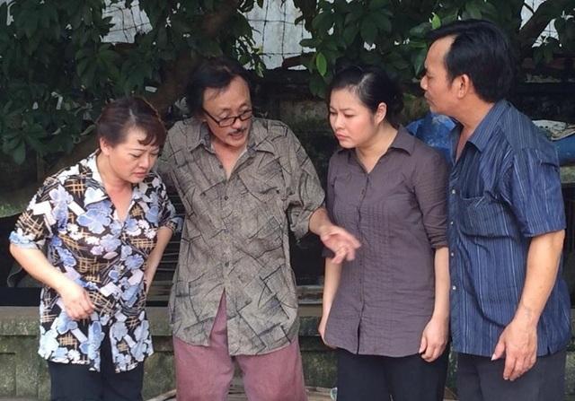 Bộ ba Trà My, Giang còi, Quang tèo vẫn thân thiết với nhau như thời đóng Gặp nhau cuối tuần.