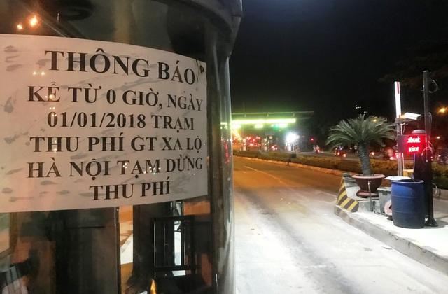 Chính thức dừng thu phí phương tiện qua trạm BOT Xa lộ Hà Nội - 6