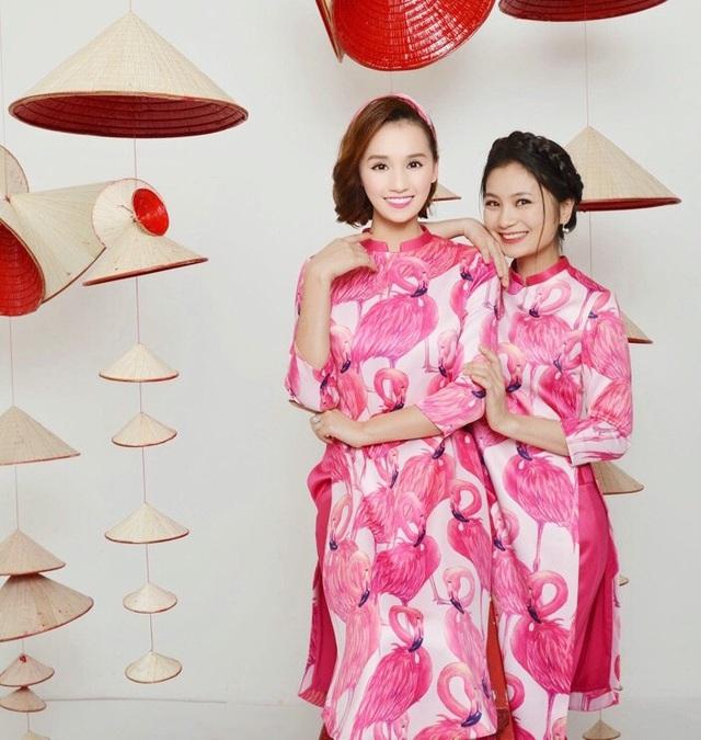 Lã Thanh Huyền cùng dàn sao Việt nổi bần bật với áo dài cách tân sặc sỡ - 6