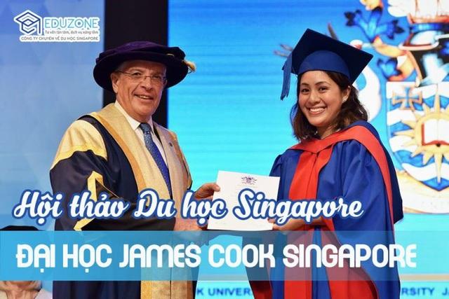 """Hội thảo """"Du học Singapore và chuyển tiếp Úc không mất thêm học phí"""" - 1"""